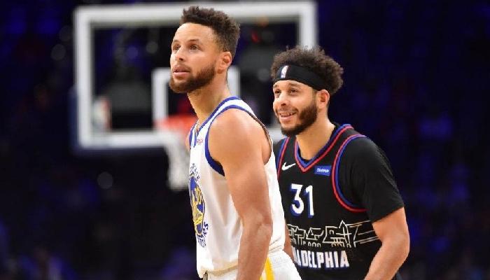 Seth Curry et Stephe Curry se sont affrontés pour a 10ème fois en ce 20 avril 2021