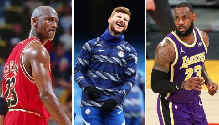 Timo Werner de Chelsea a donné son avis sur le GOAT en NBA