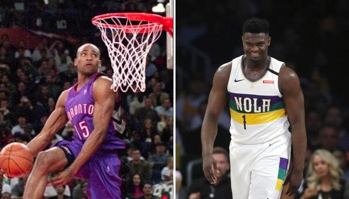 NBA Zion Williamson a révélé ses dunkeurs préférés all-time