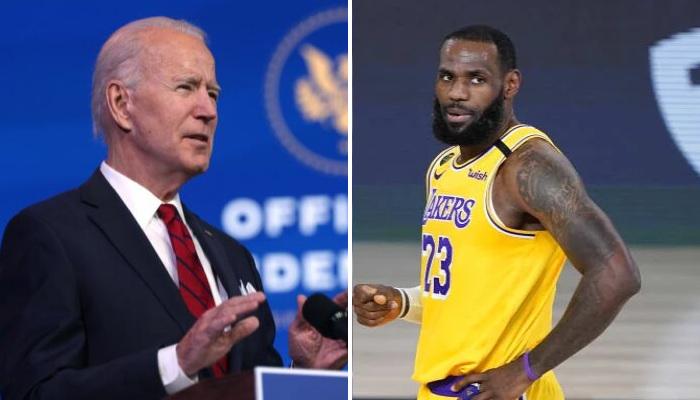 NBA Les Lakers n'iront pas rendre visité à Joe Biden dans la Maison Blanche