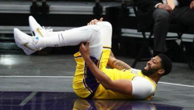 NBA – Anthony Davis rechute et se blesse sérieusement !