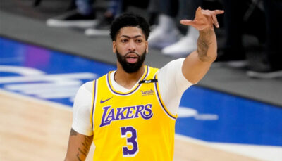 NBA – Le message d'Anthony Davis au reste de la ligue après la victoire des Lakers