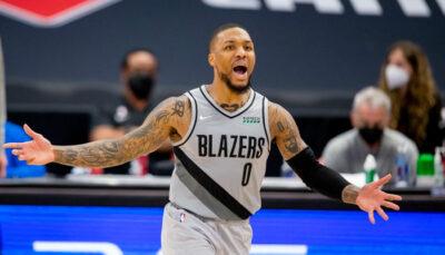 NBA – L'équipe maudite contre laquelle Damian Lillard est un fantôme