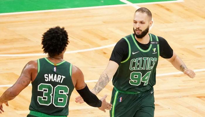 Evan Fournier prend chaud et enchaîne avec les Celtics ! NBA