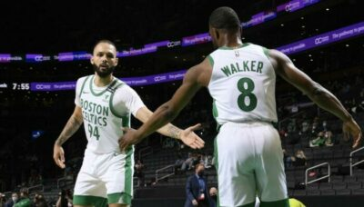 NBA – Evan Fournier marque déjà l'histoire des Celtics !