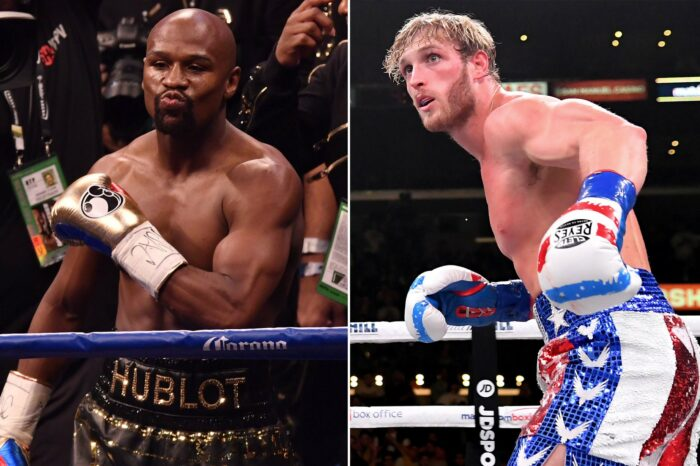 Floyd Mayweather et Logan Paul