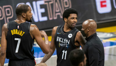 NBA – Début de crise chez les Nets, Kyrie Irving réagit !
