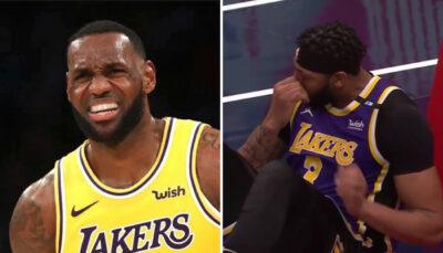 NBA – Les Lakers se prennent 3 énormes posters, AD et Kuzma projetés au sol !