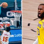 NBA – Même LeBron réagit à l'énorme poster de Miles Bridges !