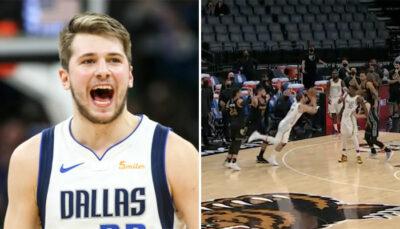 NBA – Monumental, Luka Doncic plante un shoot impossible au buzzer pour la victoire !