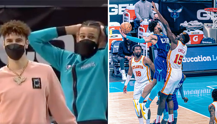 La réaction géniale de Miles Bridges à son dunk fou et archi-violent NBA