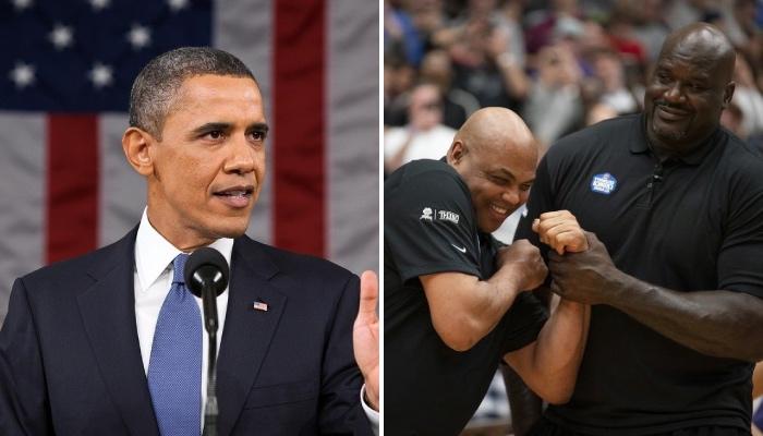 L'ancien président des États-Unis, Barack Obama, s'est associé aux légendes NBA Charles Barkley et Shaquille O'Neal, dans le cadre d'une campagne pour la vaccination