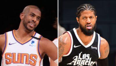 NBA – Paul George et Chris Paul continuent leur beef, PG s'agace