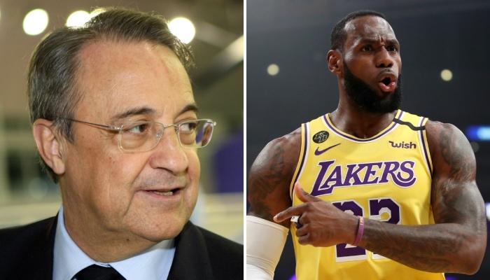 Le président du club de football du Real Madrid, Florentino Perez, désormais dirigeant de la Super Ligue nouvellement créée, s'est attaqué à son nouvel ennemi, l'UEFA, en citant la superstar NBA des Los Angeles Lakers, LeBron James