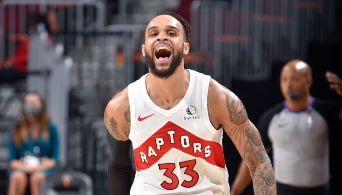 L'arrière des Toronto Raptors, Gary Trent Jr., a réalisé une performances quasiment jamais vue dans l'histoire de la NBA face à Cleveland, ce samedi 10 avril 2021