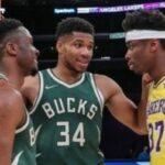 NBA – Giannis réagit à Thanasis qui fait du sale à Kostas