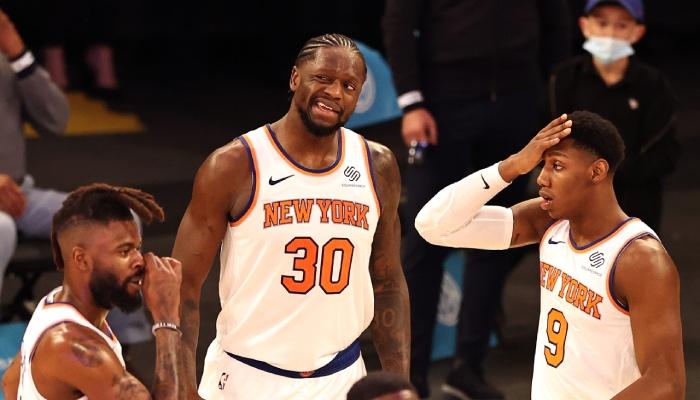 Les joueurs NBA des New York Knicks, Reggie Bullock, Julius Randle et R.J. Barrett, surpris par la déclaration d'une star rivale de la ligue au sujet de la franchise