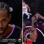 NBA – Kawhi tape un giga-poster sur un colosse, les fans explosent !