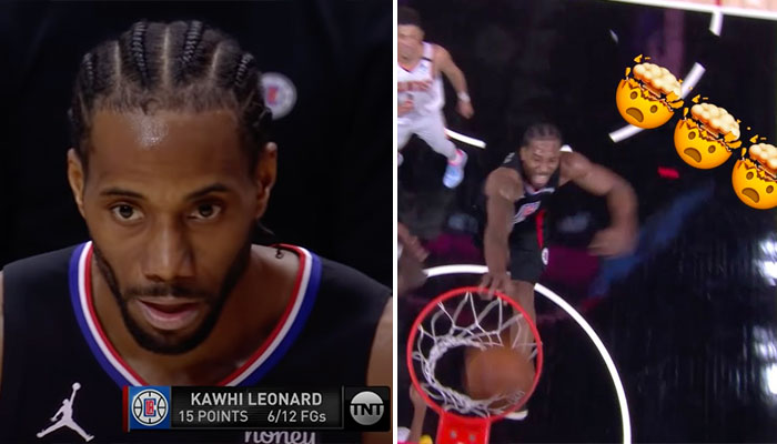 L'énorme poster de Kawhi Leonard sur Deandre Ayton NBA