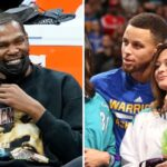 NBA – KD plié de rire devant une blague sur… la mère de Steph Curry !