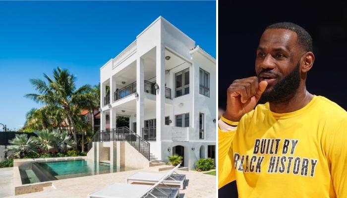 La superstar NBA des Los Angeles Lakers, LeBron James, vient de voir sa magnifique ancienne maison située à Miami se vendre pour près de 13 millions de dollars