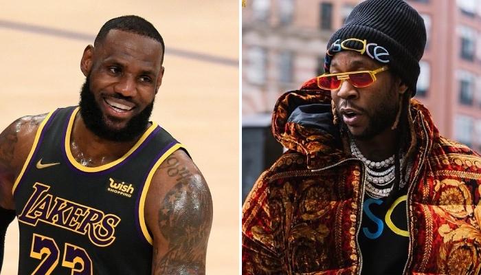 La superstar NBA des Los Angeles Lakers, LeBron James, vient d'offrir un cadeau au célèbre rappeur US 2 Chainz