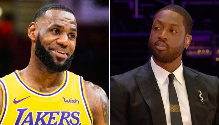 LeBron James NBA réagit à l'investissement de Dwyane Wade au jazz