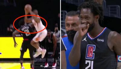 NBA – Pat Beverley expulsé pour un geste honteux en plein match