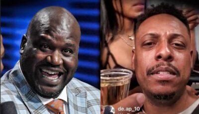 NBA – La séquence virale de Shaq au moment d'évoquer Pierce et sa soirée strip