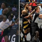 NBA – Lakers vs Raptors part en match de catch, 2 expulsions !