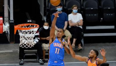 NBA – Carton pour Théo Maledon, qui tape son record en carrière et rejoint Russell Westbrook !