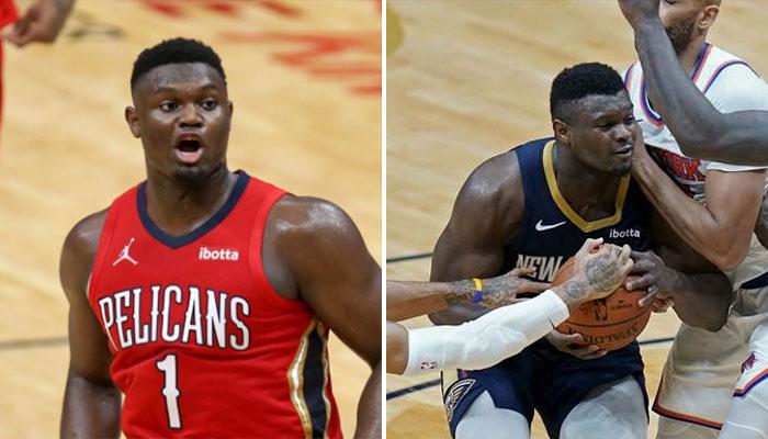 Trop fort, Zion domine à lui seul... 5 joueurs des Knicks NBA