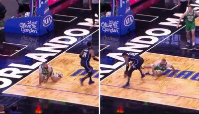 NBA – Malgré son gros match, Evan Fournier prend très cher sur un gros cross