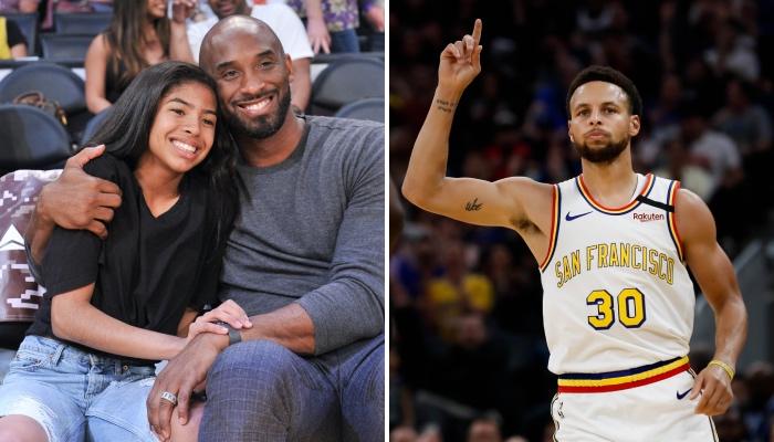Stephen Curry et les Warriors ont rendu un bel hommage à Gianna Bryant