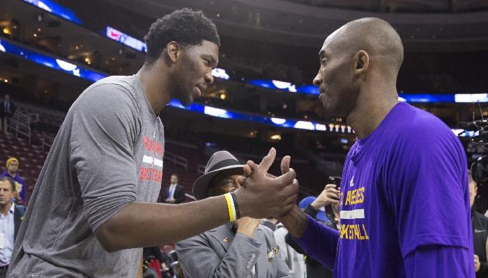 Joel Embiid a attribué une partie de sa réussite à Kobe Bryant