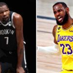 NBA – KD donne les 3 seuls joueurs inarrêtables dans la ligue… LeBron oublié !