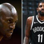 NBA – Kevin Garnett furax après le geste polémique de Kyrie sur le logo des Celtics !