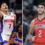NBA – Killian Hayes regarde Lonzo Ball droit dans les yeux