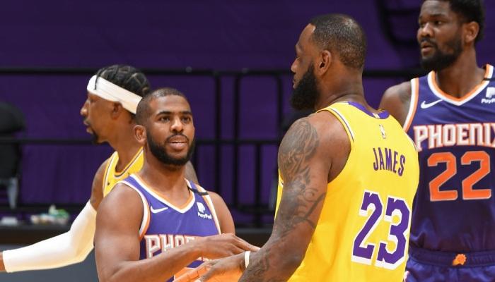 NBA LeBron et CP3 s'affronte pour la premère fois en playoffs
