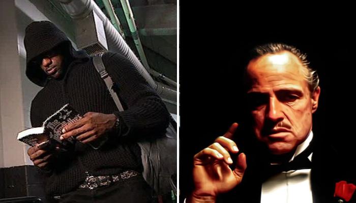 NBA LeBron se compare à Don Vito