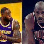 NBA – L'énorme compliment de LeBron pour Michael Jordan