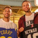 NBA – Neymar marque un tir à la Curry sous les yeux de Mbappé et lui envoie un message !