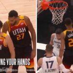 NBA – Les images et paroles impressionnantes de Rudy Gobert en plein match
