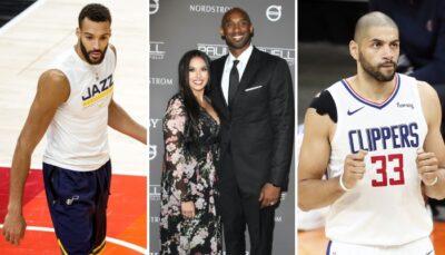 NBA – Gobert et Batum réagissent au speech de Vanessa Bryant