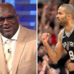 NBA – Le gros compliment de Shaq à Tony Parker et aux Spurs