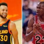 NBA – Steph Curry rejoint Michael Jordan dans l'histoire avec son record !