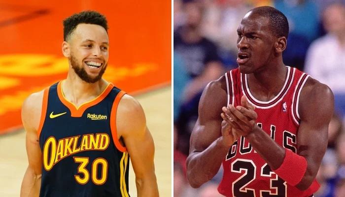 NBA Curry a été comparé à Jordan