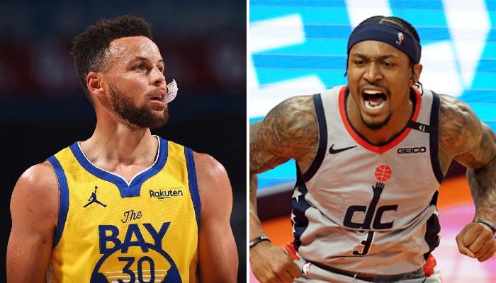 NBA La course au meilleur scoreur entre Bradley Beal et Stephen Curry fait rage