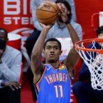 NBA – Théo Maledon claque un record all-time du Thunder et réagit