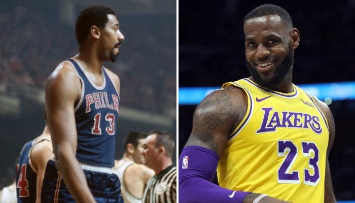 Un joueur a rejoint Wilt Chamberlain dans l'histoire de la NBA !